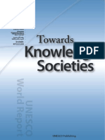 UNESCO Towards Knowledge Society