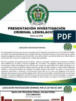 PRESENTACION LEGISLACIÓN 1 INVES