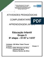 6ª ETAPA APCAs GRUPO 5