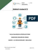 TP N°3 Psicología del trabajo