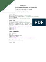 Grafica en 2D y 3D de una función con matlab