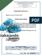 F011- P002- GOP certificacion laboral