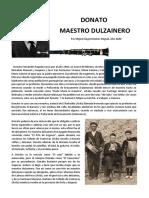 Donato Maestro Dulzainero