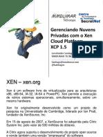 Gerenciando nuvens privadas com o xen cloud platform-xcp1-5