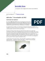 Sensores Chevrolet Aveo.doc