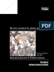 Revista Romana de Stiinte Politice Vol 2, Nr. 1
