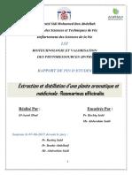 Extraction et distillation d'u - Hind EL-AZRAK_3927.pdf