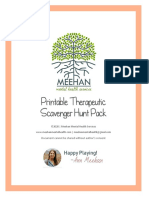 Therapeutic Scavenger Hunt Pack (Meehan MHS)