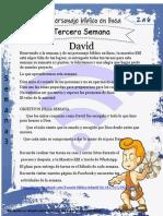 mi personaje bíblico en linea tercera semana David 2 a 6   años