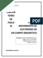MOVIMIENTO DE ELECTRONES EN UN CAMPO MAGNETICO.docx