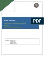 Jbrouwer Semba2009 World Economy Assignment Two