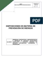 Anexo Disposiciones en materias de prevención de riesgos 23_02_18