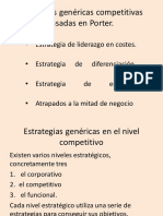 CLASE FINAL ESTRATEGIAS PORTER