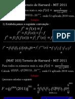 P-001 Harvard-MIT-2011-Funções Compostas