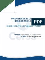 3.5 EDICIÓN DE DATOS VECTORIALES Y RASTER