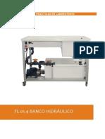 FL 01.4 BANCO HIDRAULICO  - DE LORENZO