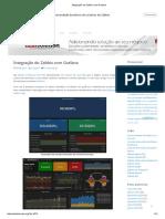 Integração do Zabbix com Grafana