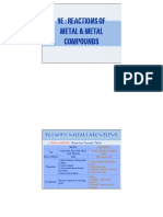 9e Reactions of Metal