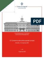12a Conferenza sulla politica spaziale europea
