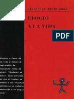 David-Néel, Alexandra - Elogio a la vida -Anarquismo en PDF-.pdf