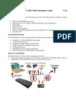 PVR-TV 300 Pro Installation Guide V1.0 Eng