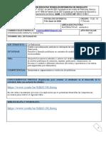 MATEMATICAS CLEI III, TALLER 2