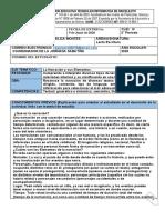 LECTO ESCRITURA CLEI III, TALLER 2
