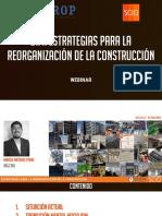 SCIO DC - EXPOSICIÓN ESTRATEGIAS PARA REORGANIZACIÓN DE LA CONSTRUCCIÓN