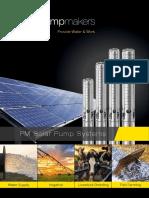 Pumpmakers PM Solar Pump Systems