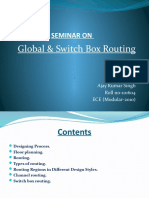 global switch box routing