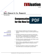 Compensation Strategy for the new economy age
