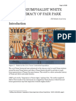 The Triumphalist White Supremacy of Fair Park