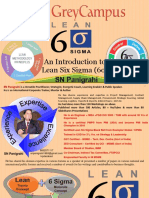 #Basic Concepts of Lean Six Sigma - By SN Panigrahi