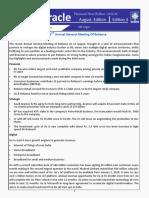 Oracle News Bulletin Edition 4
