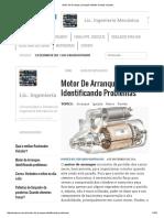 Motor de Arranque_ principais defeitos e testes simples_.pdf