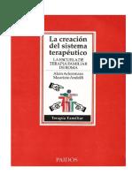 LA CREACIÓN DEL SISTEMA TERAPÉUTICO (texto)