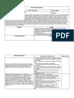 III Planificación unidad didáctica LENGUA OCTAVO