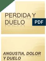 PERDIDA Y DUELO
