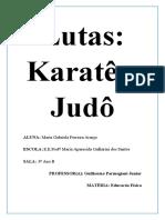 JUDO E KARATE
