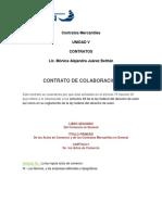 ITACA CONTRATO MERCANTIL DE COLABORACION