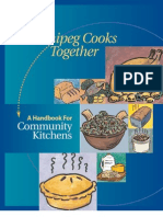 Community Kitchen Manual From Manitoba