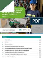 Guía de buenas prácticas para el trabajo seguro de los recicladores de base en tiempo de COVID-19