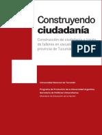 Manual Construyendo Ciudadania. Pag. 7 - 17
