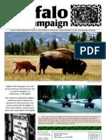 Buffalo Field Campaign 2001 Newsletter