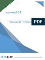 Unidad 09 Técnicas de Rehabilitación