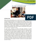 MARTIN LUTERO Y LA REFORMA 1517