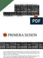 SOCIALES Y CIUDADANAS     I- 2016.pptx