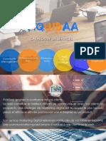 Exemple de Mini Catalogue Marketing Digital conçu par Franck WAMBA