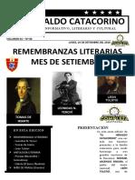 BOLETIN HERALDO CATACORINO MES DE MAYO