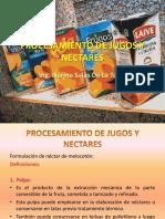 PROCESAMIENTO DE JUGOS Y NECTARES